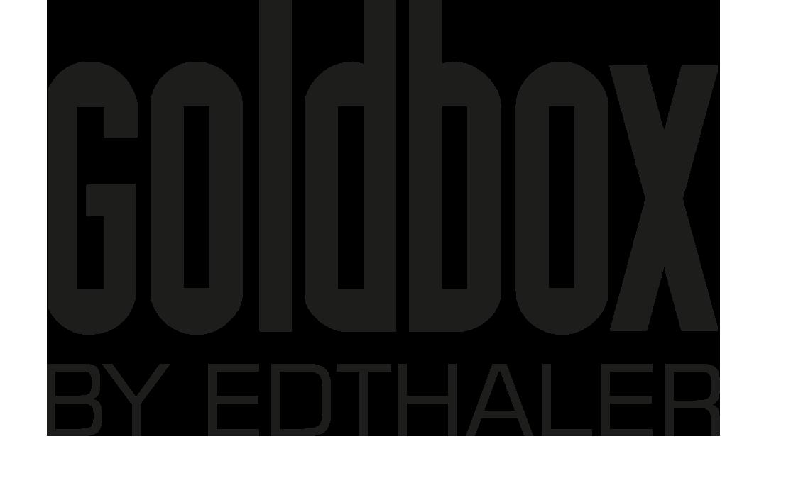 Goldbox by edthaler Logo